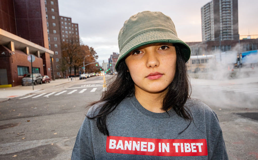 Banned in Tibet Crewneck Sweater