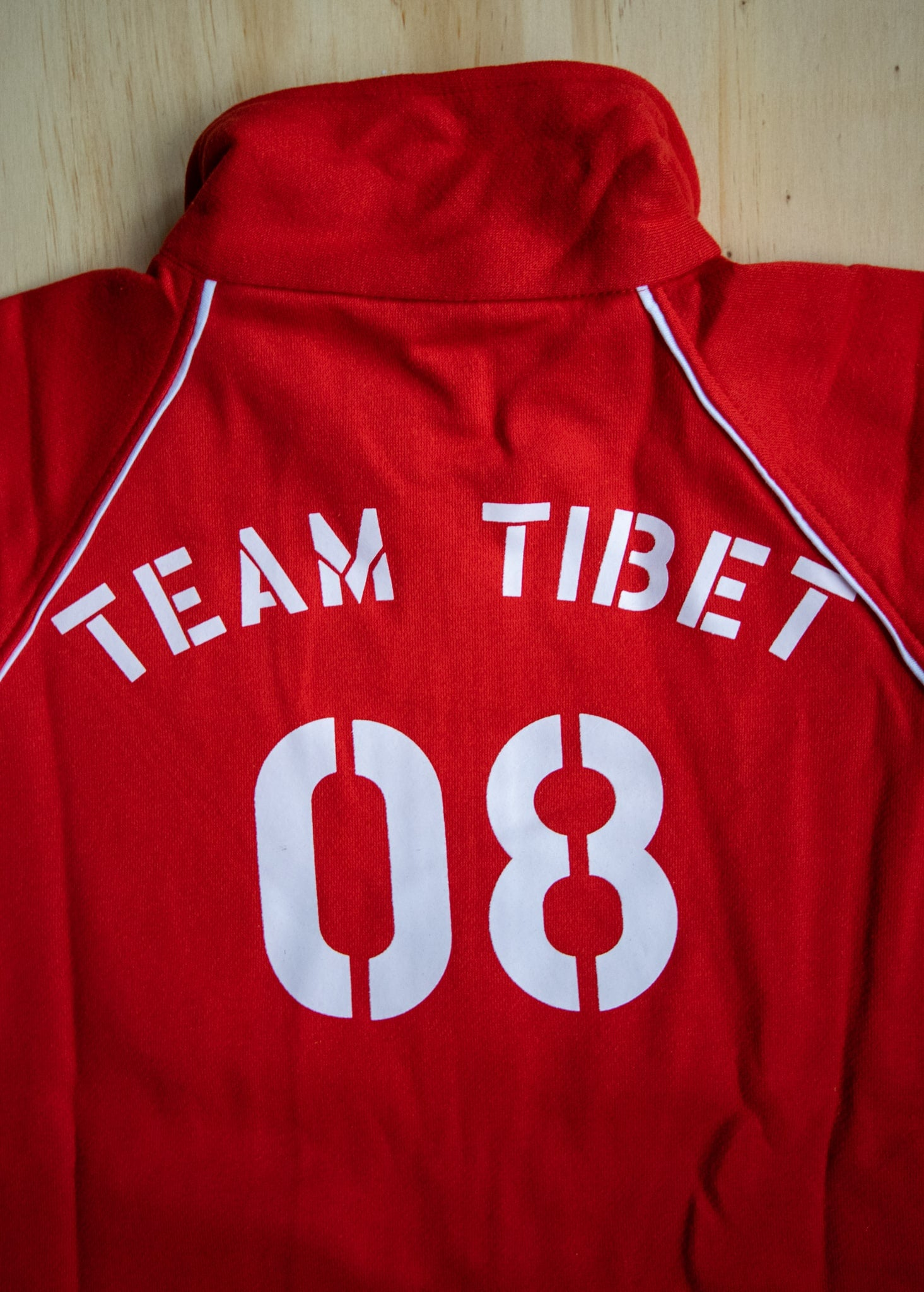 Team Tibet Full Zip Sweater