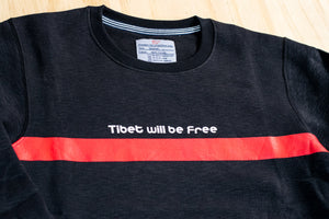 Tibet will be Free Crewneck Sweater