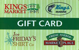 Kings Gift Card - $25.00
