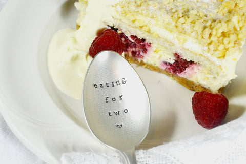 'Eating For Two' Dessert Spoon