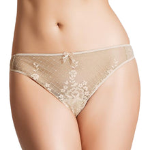Load image into Gallery viewer, empreinte melody thong caramel
