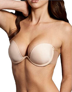 Backless, Strapless Push Up Combo Wing bra