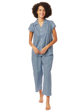 Load image into Gallery viewer, Hudson Luxe Pima Cotton Lightweight Capri Pajama