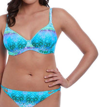 Load image into Gallery viewer, Seascape Plunge Bikini Top