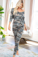 Load image into Gallery viewer, Alexa Camo Jogger Loungewear