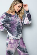 Load image into Gallery viewer, Sara Tie Dye Jogger Loungewear