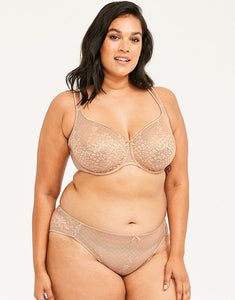 Melody Seamless Lace Full Cup Bra