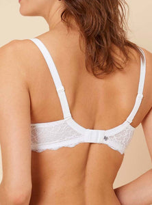 Caresse Full Cup Plunge Bra