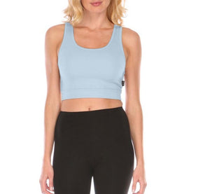 Sporty Crop Tank Bralette