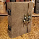 "Soft Leather Journal 5""x4"""