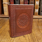 "Embossed Leather Journal - 5""x4"""