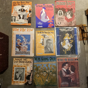 Antique Graphics and Sheet Music