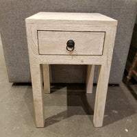 Whitewashed Nightstand/Endtable