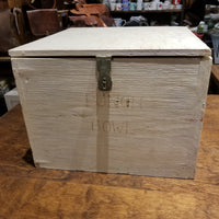 Vintage Wooden Latched Box