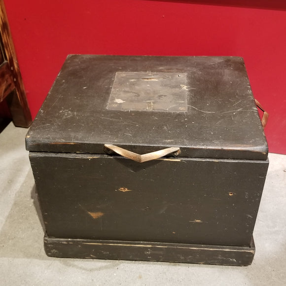 Vintage Box with Copper Handles