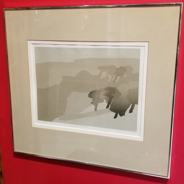 Original Signed Print in Frame