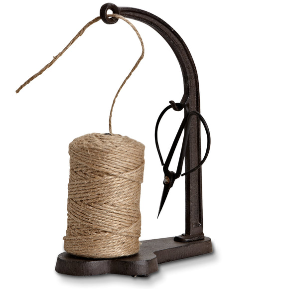 Twine Holder with Scissors