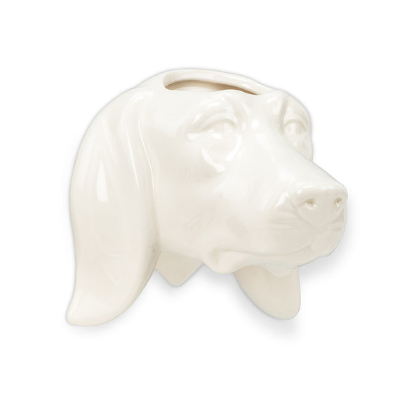 Dachshund Head Wall Planter