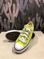 Green Peak Retro Canvas Low Top Sneaker
