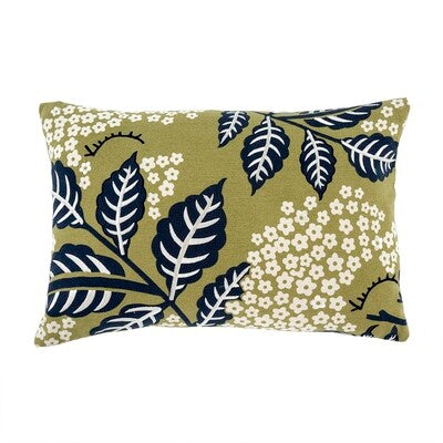 Printemps Pillow, Navy