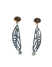 Cicada Wing Earring