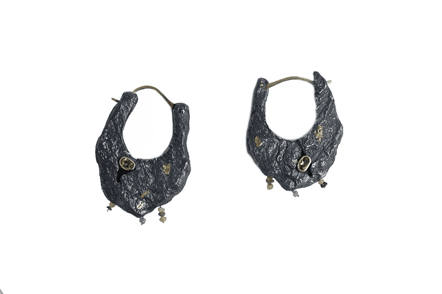 Metamorphic Hoop Earrings
