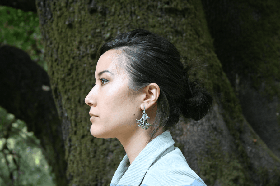 Usnea Chandelier Earrings