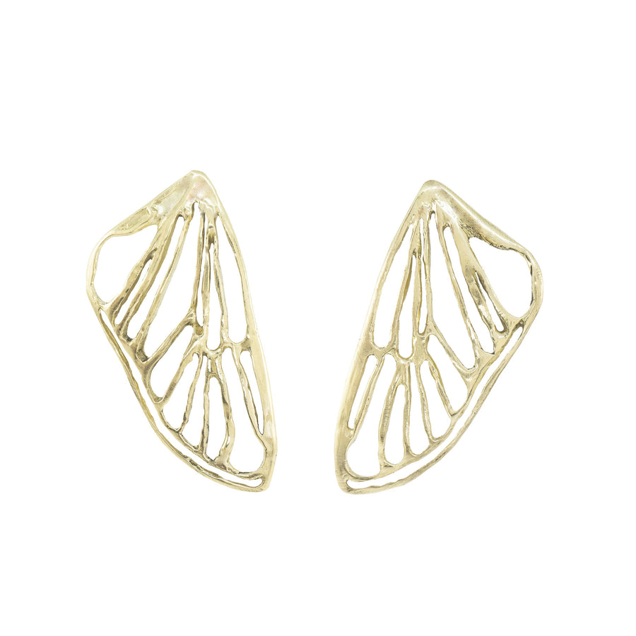 Petite Cicada Wing Earrings