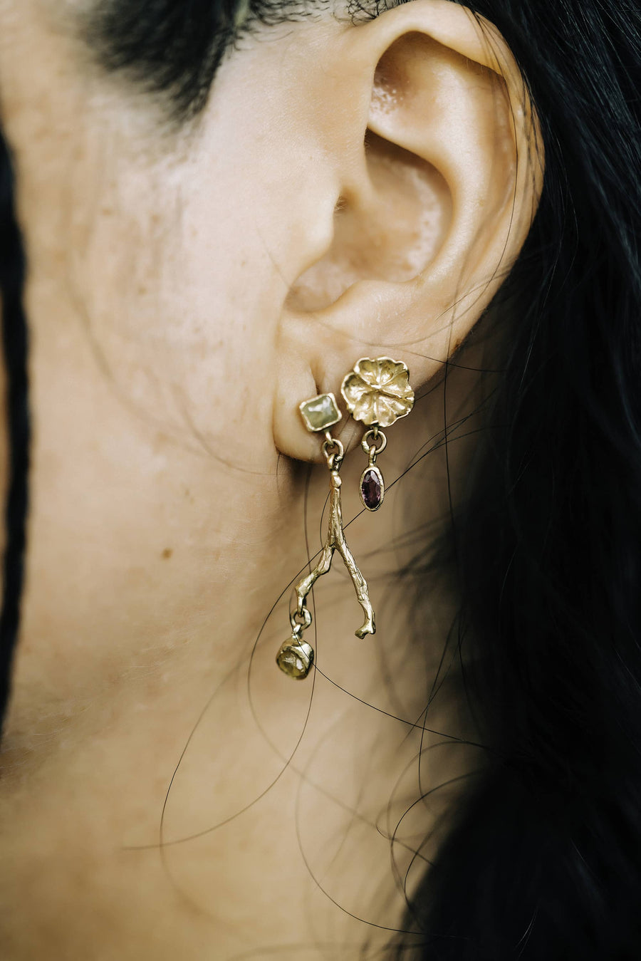 Efflorescent Dangling Earrings