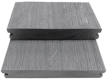 Load image into Gallery viewer, GEWGSB_Gray Grooved-Edge Wood Grain Solid Board Sample - Factory Floorings