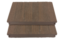 Load image into Gallery viewer, GEWGSB_Mocha Grooved-Edge Wood Grain Solid Board Sample - Factory Floorings