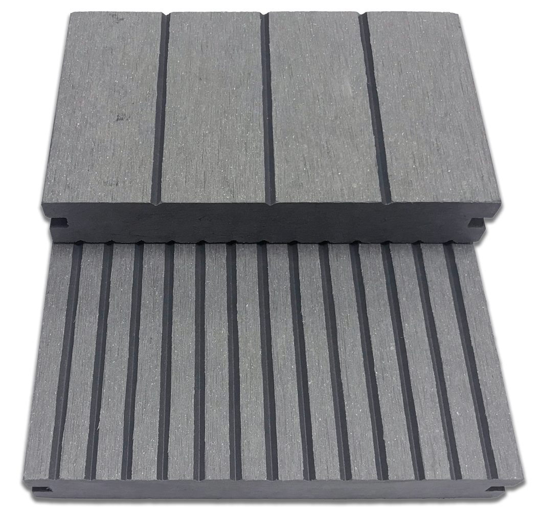 GESB_Gray Grooved-Edge Solid Board Sample - Factory Floorings