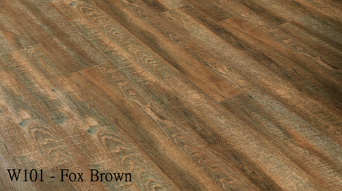 W101_Fox_Brown Flooring Sample - Factory Floorings