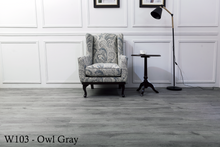 Load image into Gallery viewer, W103_Owl_Gray SPC Flooring Sample - Factory Floorings
