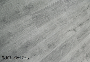 W103_Owl_Gray SPC Flooring Sample - Factory Floorings