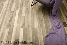 Load image into Gallery viewer, W105-1_Light_Saddlewood SPC Flooring Sample - Factory Floorings