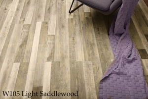 W105-1_Light_Saddlewood SPC Flooring Sample - Factory Floorings