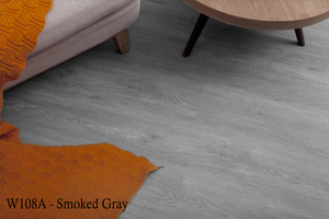 W108-A_Smoked_Gray SPC Flooring Sample - Factory Floorings