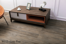 Load image into Gallery viewer, W112_Gray_Pine SPC Flooring Sample - Factory Floorings