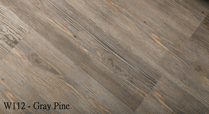 W112_Gray_Pine SPC Flooring Sample - Factory Floorings