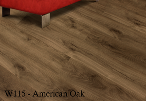 W115_American_Oak SPC Flooring Sample - Factory Floorings