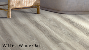 W116_White_Oak SPC Flooring Sample - Factory Floorings