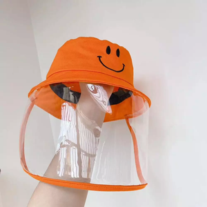 Kids Anti Spitting Protective Hat Face Shield