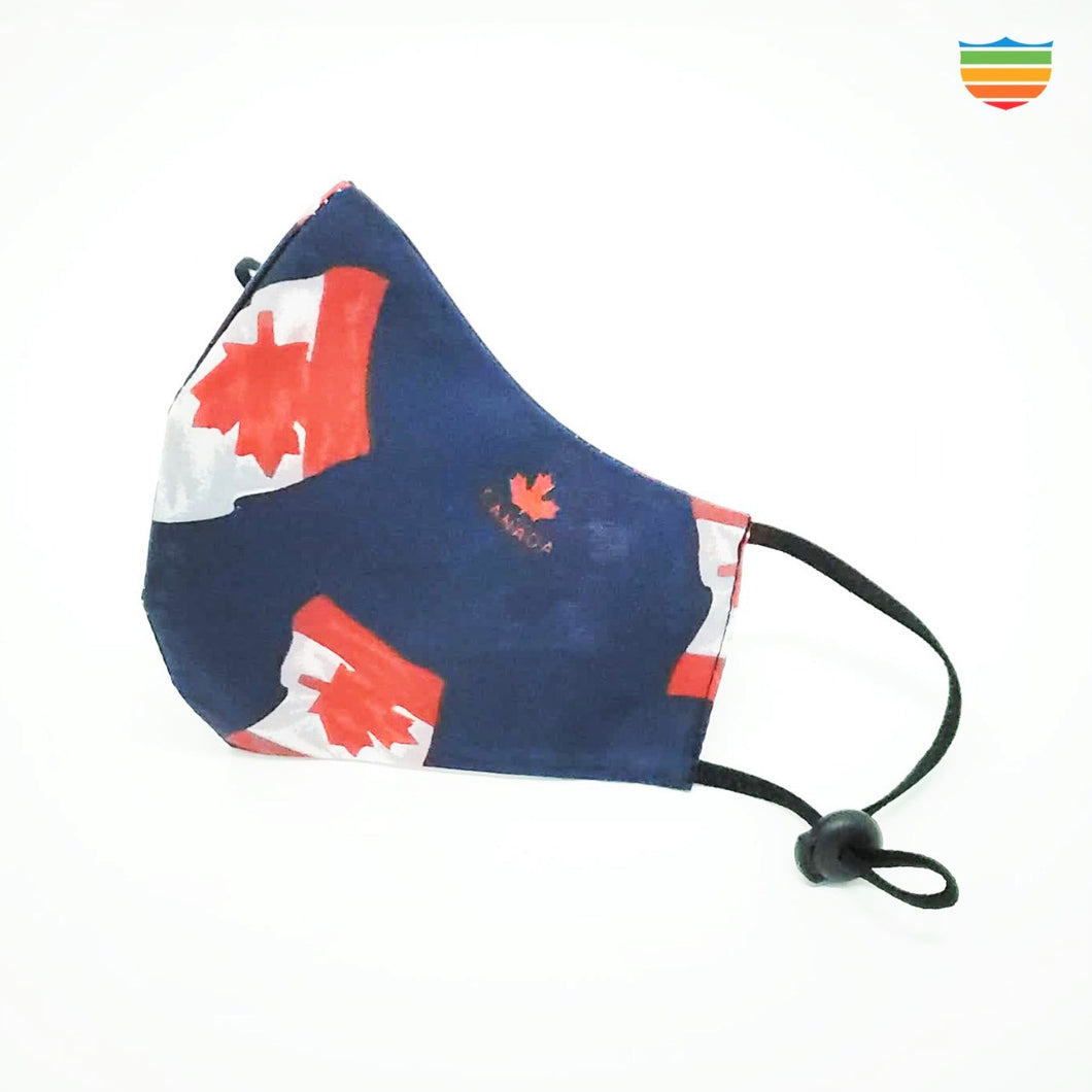Limited Edition - reusable 100% cotton mask - Canada