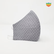 Load image into Gallery viewer, Reusable 100% cotton mask - Oxford