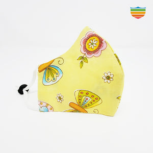 Reusable 100% cotton mask - For kids - Candiac