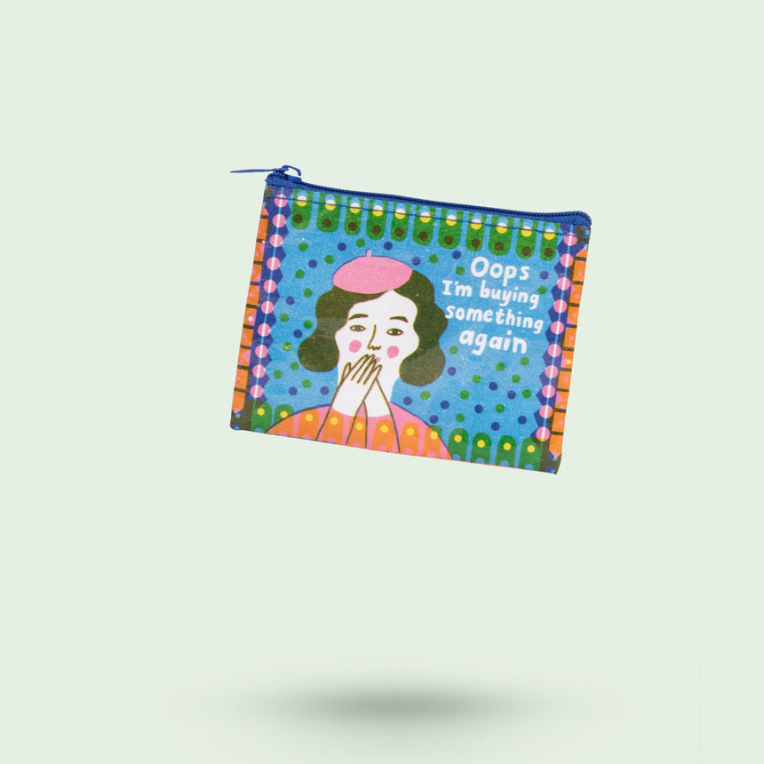 Ooops I'm Buying Something Coin Purse by Blue Q - Happy Factory