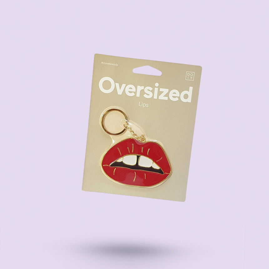 Oversized Lips Keyring
