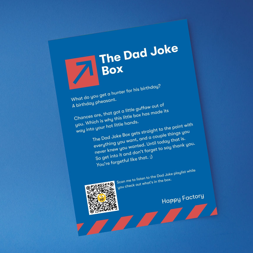 The Dad Joke Box - Happy Factory